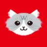 猫のパールのイラスト